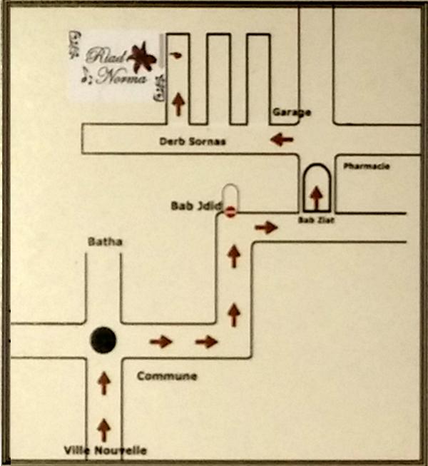 acces Riad Norma